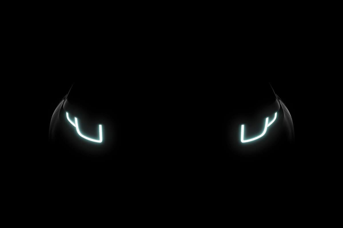 Upgrade fari LED Range Rover Evoque