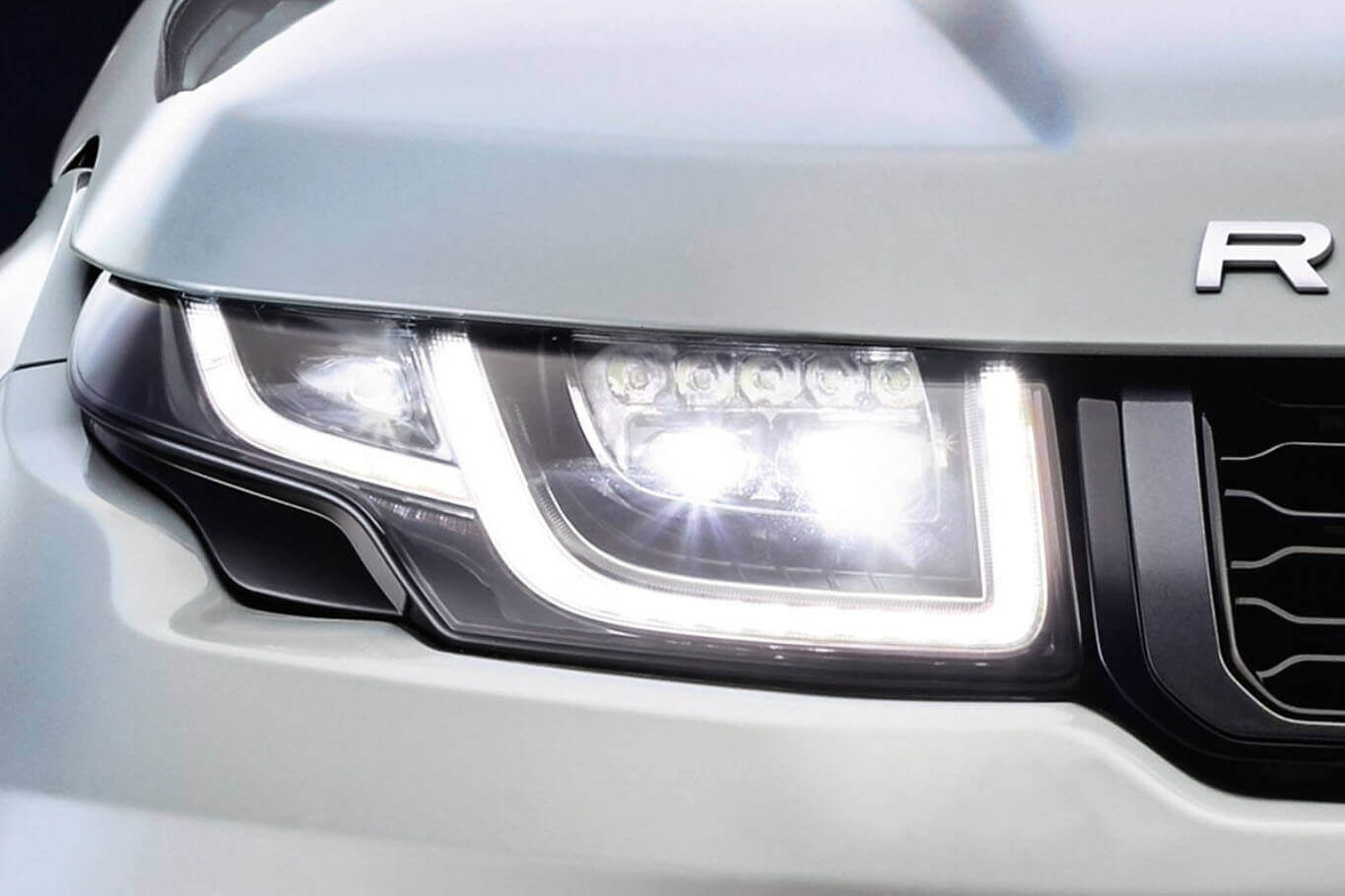 Full-LED Headlights Evoque 2016